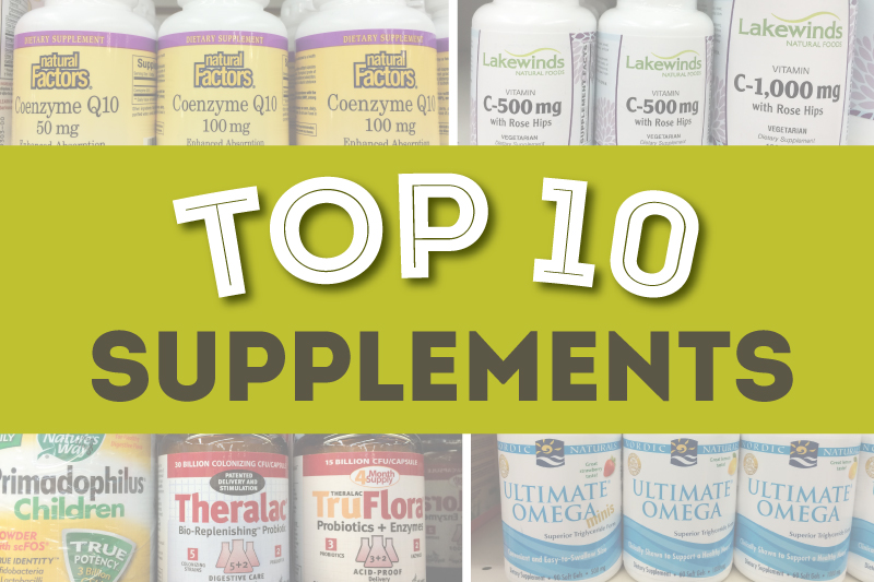 Image for Top 10 Supplements