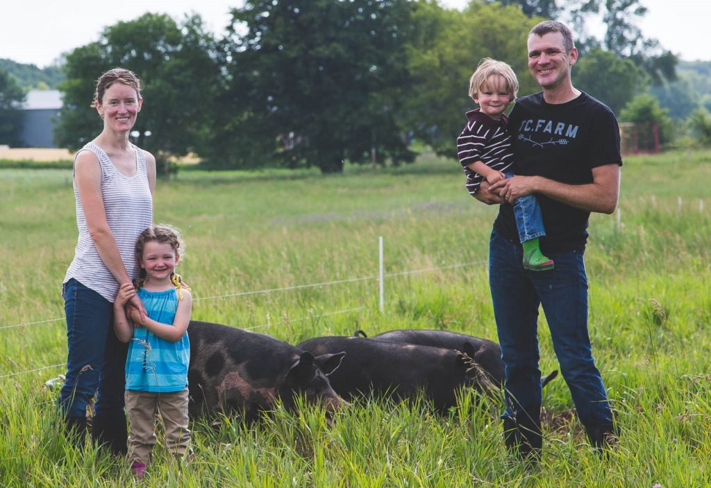 Heritage Pork from TC Farm and the McCann Family