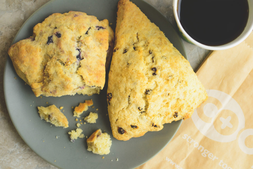 Local Baked Goods Include Scones