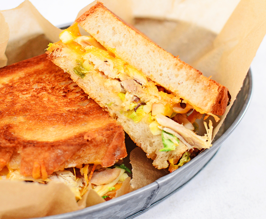 Image for Apple and Chicken Cheddar Melts