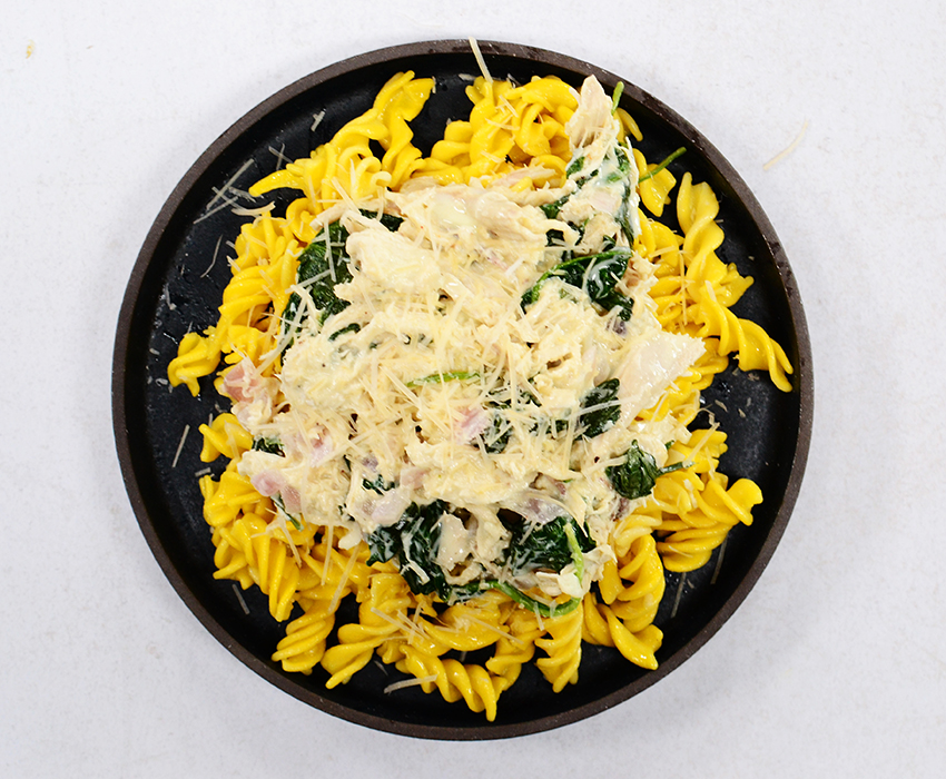 Image for Rotisserie Chicken and Spinach Pasta