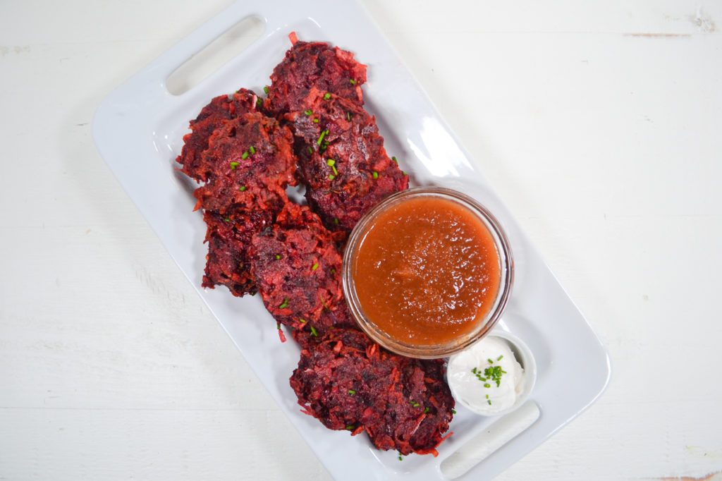 Image for Beet Potato Latkes