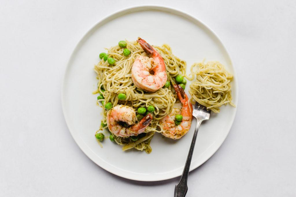 Image for Shrimp Pesto Pasta