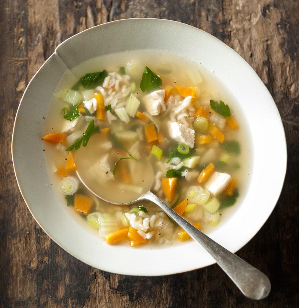 Image for Feel Good Ginger Turmeric Turkey Soup
