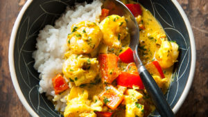 Image for Shrimp or Scallop Curry