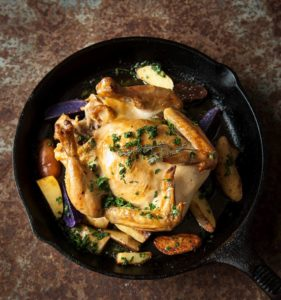 Image for Rotisserie Chicken with Lemon-Parsley New Potatoes