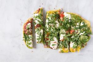 Image for Heirloom Tomato Burrata Pizza