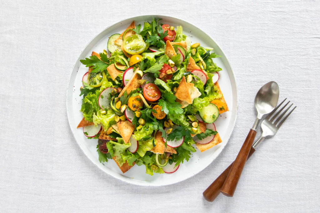 Image for Summer Fattoush Salad