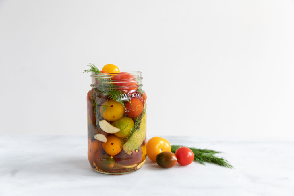 Image for Quick Pickled Cherry Tomatoes