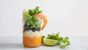Image for Thai Coconut Curry with Shrimp Soup in a Jar