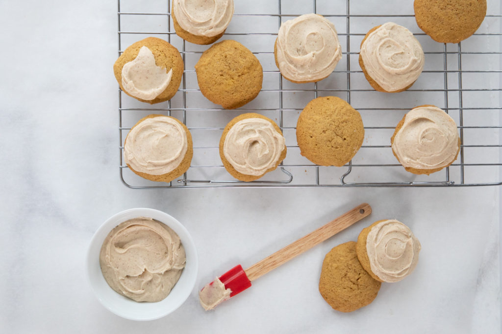 Image for Gluten-Free Pumpkin Cookies with Browned Butter Frosting