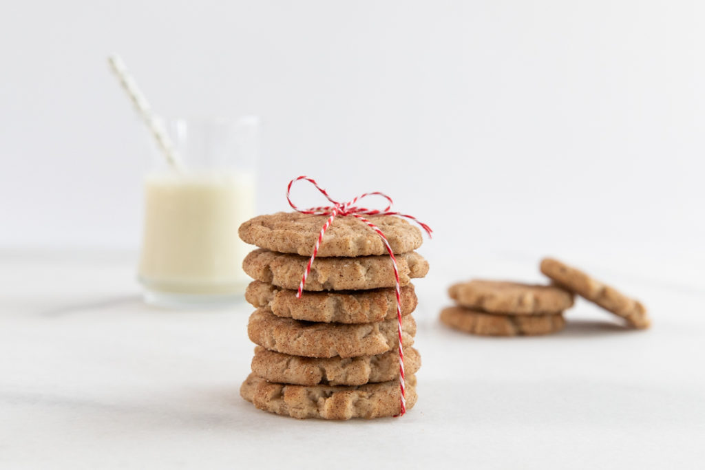 Image for Vegan Snickerdoodle Cookies