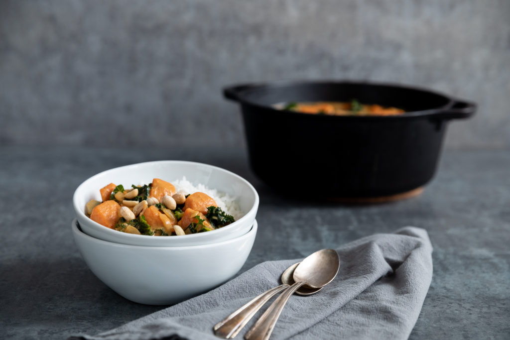 Image for One-Pot Sweet Potato and Kale Stew