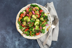 Image for 'Chicken' Lentil and Avocado Salad