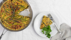 Image for Spring Asparagus and Leek Frittata