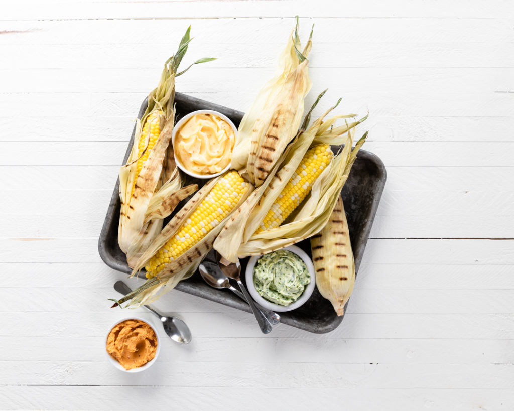 Image for Grilled Sweet Corn with Compound Butter