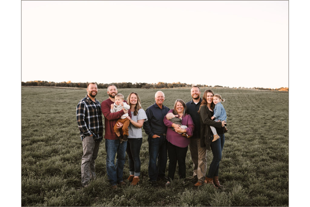 Peterson Meats Family Photo