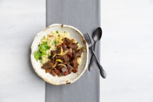 Image for Moroccan Braised Beef with Couscous