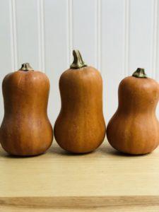 Honeynut Winter Squash Three in a Row