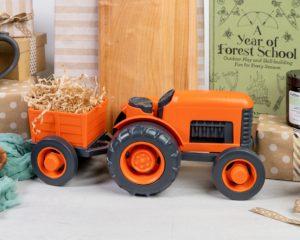 Green Toys Gift Idea Orange Tractor