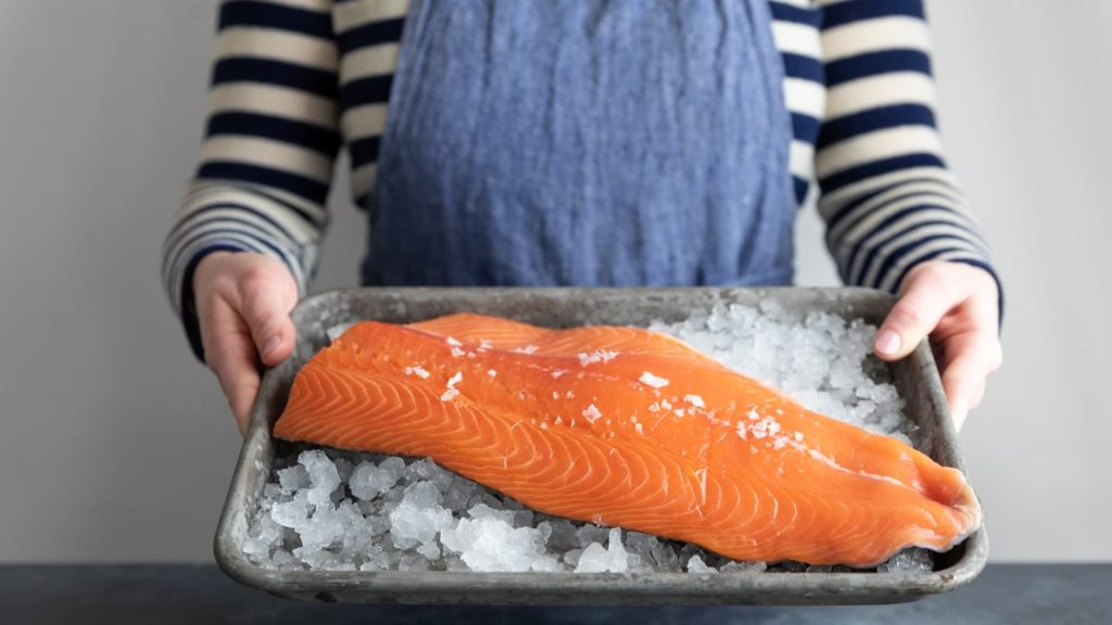 Image for Superior Fresh Atlantic salmon receives non-GMO certification
