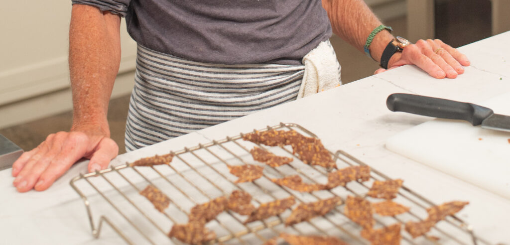 Image for Beth Dooley's Hazelnut Parmesan Crisps