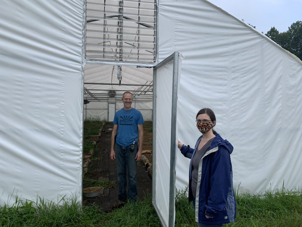 Jeremy and Amy Show Their Commercial Mushroom Facility
