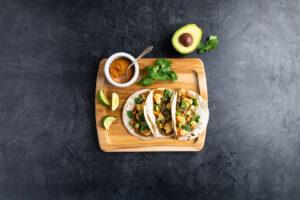 Image for Lentil and Cauliflower Tacos with Avocado