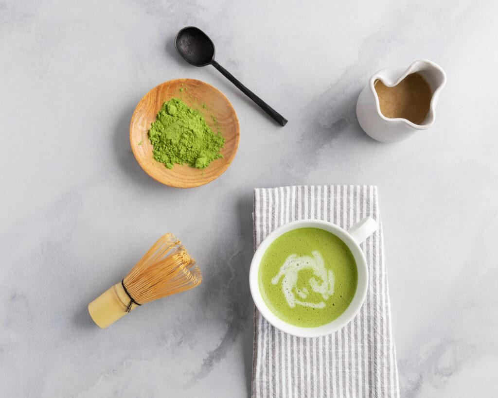 Image for Vegan Mushroom Matcha Latte
