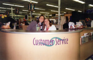 The Old Customer Service Desk at the Minnetonka Store