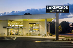 The Lakewinds storefront in Richfield