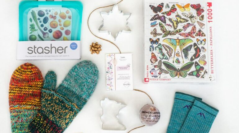 Holiday Gifts, Socks, Mittens, Puzzles