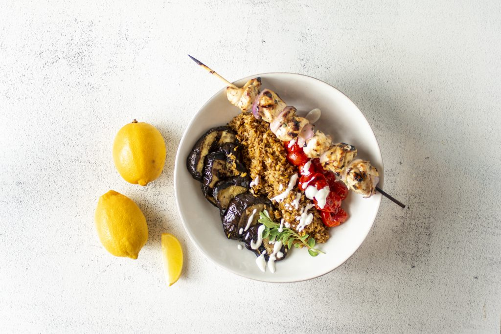 Image for Greek Chicken Bowl with Kernza Grains