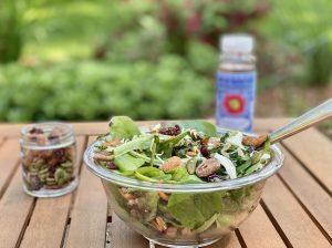 No Cook Dinner Idea Salad with Kale Slaw