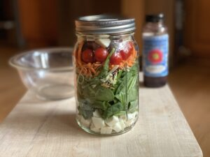 Lunch Idea from the Past: Salad in a Jar