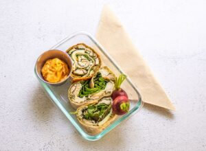 Chicken Pinwheels Make an Easy Lunch