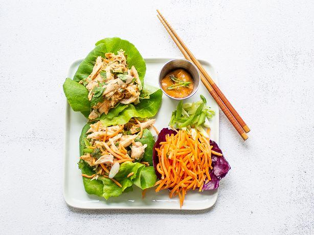 Image for Easy Lettuce Chicken Wraps